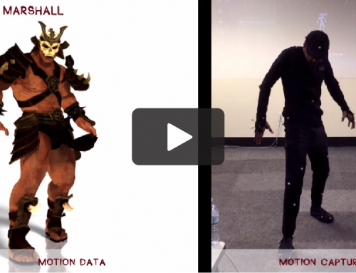 Motion Capture Data – Clean up/Retargeting Animation