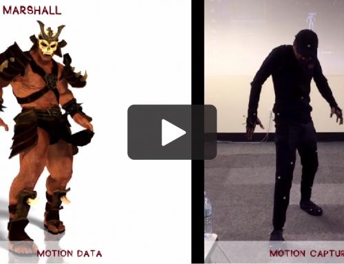 Motion Capture Data – Clean up/Retargeting Animation