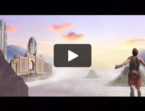Beautiful Vista Matte Painting/ Motion Graphics
